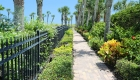 Nicely Landscaped Beach Pathway