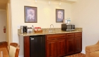 Granite Wet Bar in the Two Level Townhouse Style Suites