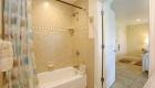 Pool Side King Shower and Bath Tub