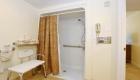 Garden View Handicap Accessible Room Shower